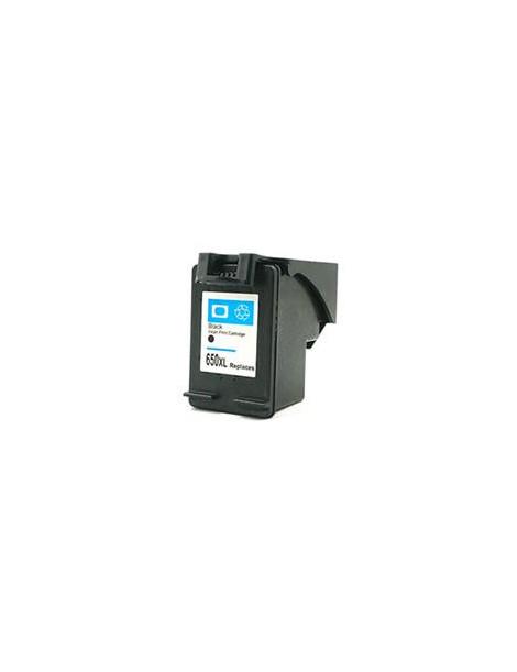 HP 650XL NEGRO CARTUCHO DE TINTA REMANUFACTURADO CZ101AE