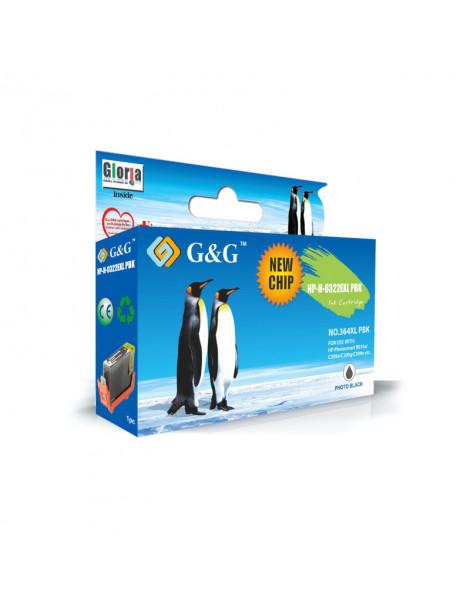 G&G HP 364XL V2 NEGRO PHOTO CARTUCHO DE TINTA GENERICO CB322EE/CB317EE