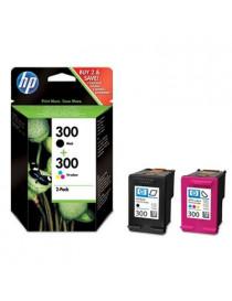 HP 300 NEGRO + TRICOLOR MULTIPACK ORIGINAL CN637EE
