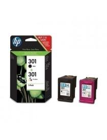 HP 301 NEGRO + TRICOLOR MULTIPACK ORIGINAL CR340EE/N9J72AE