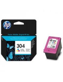 HP 304 TRICOLOR CARTUCHO DE TINTA ORIGINAL N9K05AE
